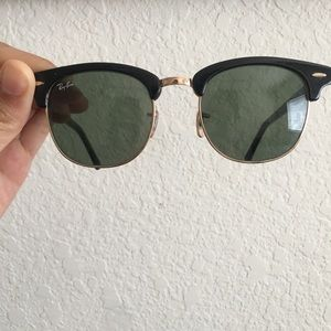 ray-ban sunglasses, clubmaster green
